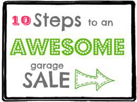 Under the Oaks blog : Garage Sale Tips, Tricks, 'n Lessons Learned