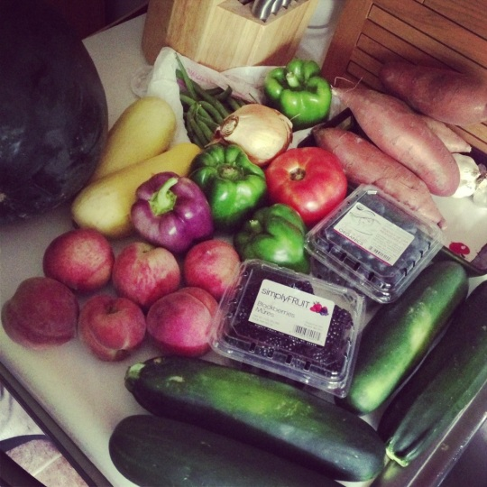 Crystal and Annie's bucket list updates! Cooking more on Under the Oaks blog #farmersmarketfinds #paleo