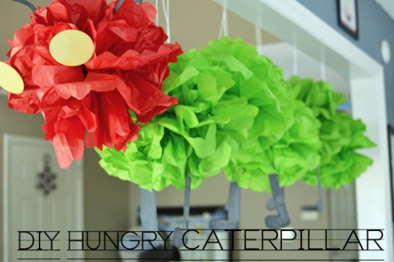 Under the Oaks blog : DIY Hungry Caterpillar