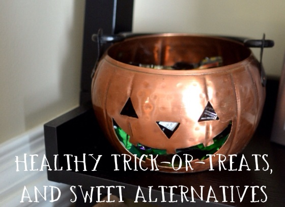 Under the Oaks : Healthy Trick or Treats, and Sweet Alternatives
