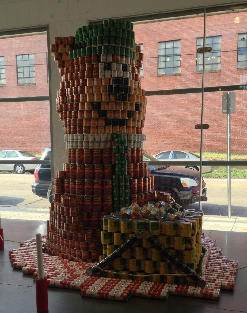 Yogi Bear and Canstruction on Under the Oaks blog: Bucket List Updates... Almost There!