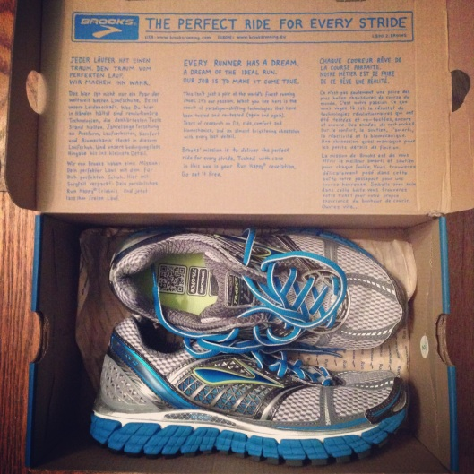 Brooks Running Shoes on Under the Oaks: Have an accomplished week.