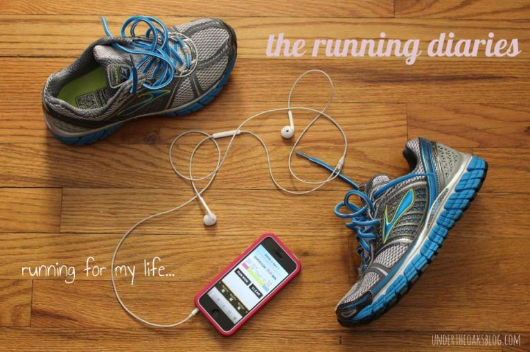 Under the Oaks blog: Running for my life...