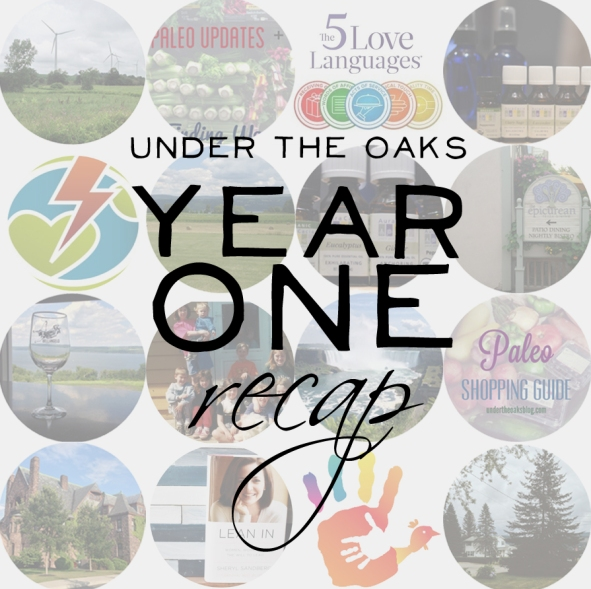Under the Oaks blog: Blog Year One: A Recap!