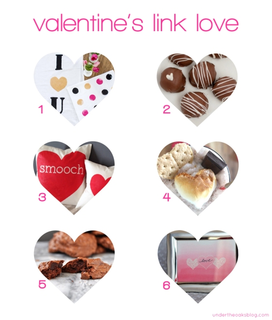 Under the Oaks blog: #Valentine's Link Love #diy #homedecor #baking
