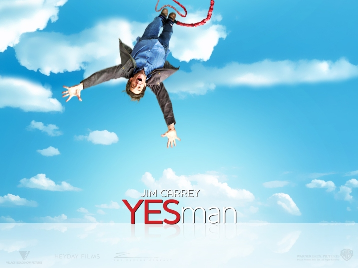 Yes Man on Under the Oaks blog: I am... saying yes! #BoldBrilliantBeautiful