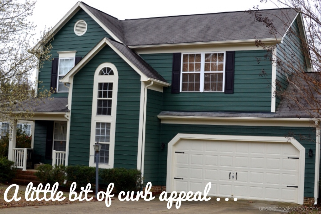 Under the Oaks : A Little Bit of Curb Appeal