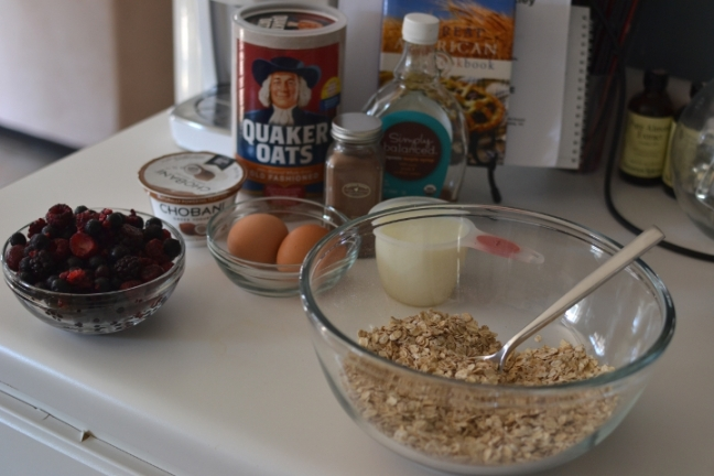 Under the Oaks : Berry Baked Oatmeal