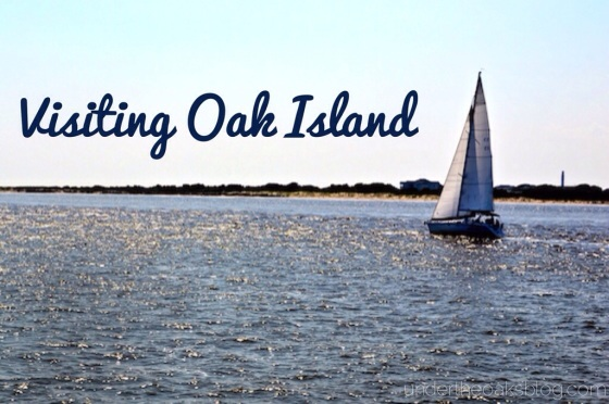 Under the Oaks blog : Visiting Oak Island
