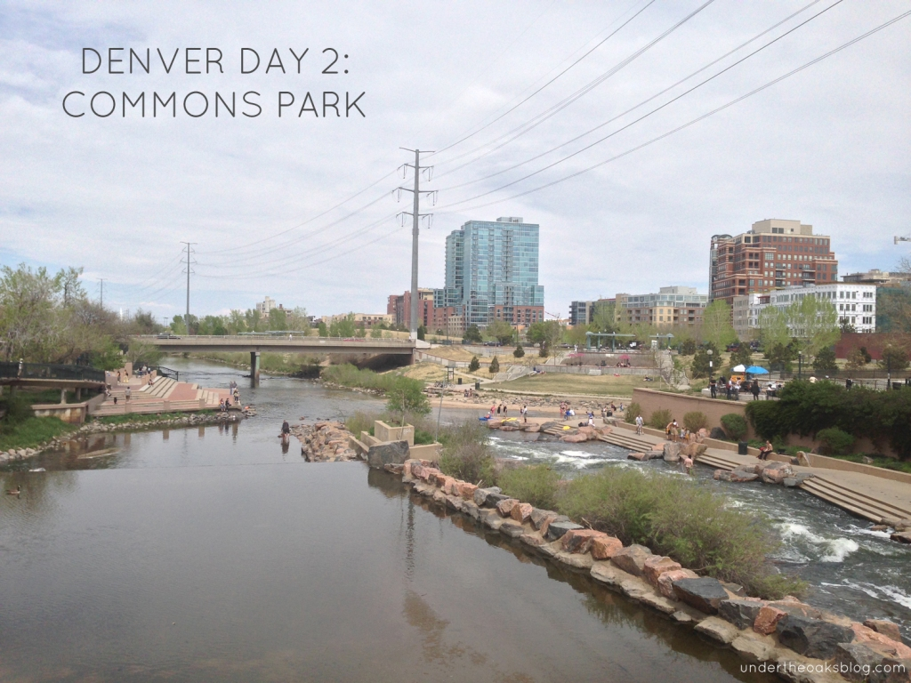 Under the Oaks blog: Hello #Denver: Mile-High Recap Pt. 1 #CommonsPark #Colorado