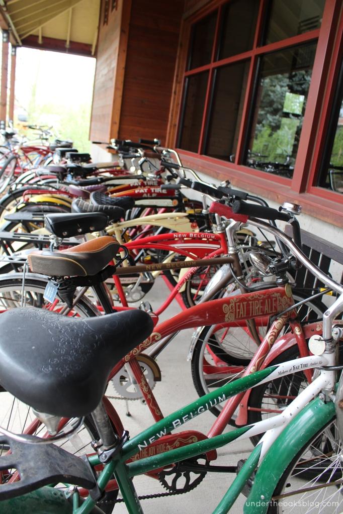 Under the Oaks blog: Beyond #Denver: Mile-High Recap Pt. 2 #FortCollins #NewBelgium #colorado #travel #craftbeer #bicycles