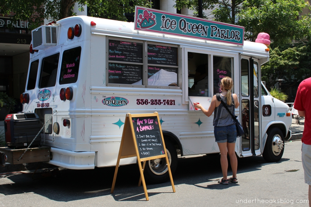 Under the Oaks blog: Downtown Raleigh Food Truck Rodeo June Recap