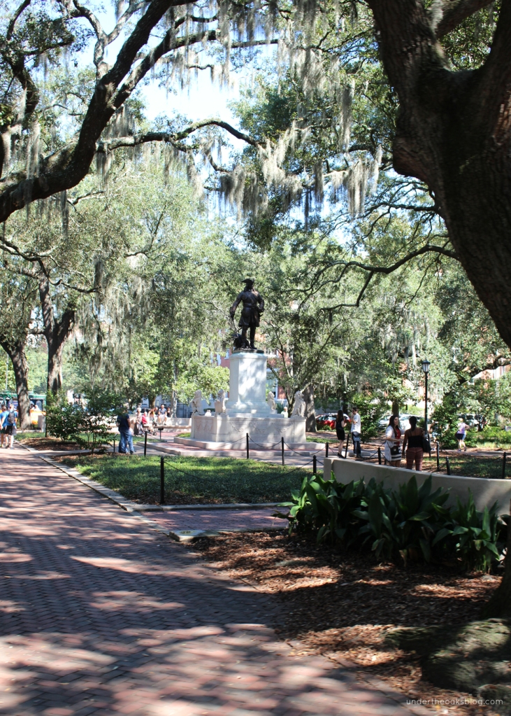 Under the Oaks blog: Beginner's Guide to Savannah #travel